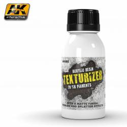 AK-665 - TEXTURIZER ACRYLIC RESIN 100 ml ( AK Interactive AK665 )