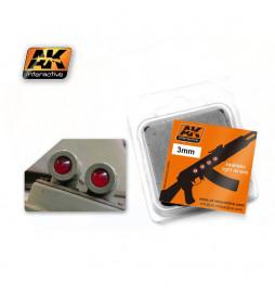 AK-213 - RED 3mm ( AK Interactive AK213 )