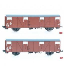 Exact-train EX20180 - Zestaw 2 wagonów Hbs/Gbs, NS
