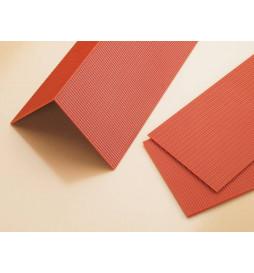 Auhagen 41611 - Płytki dachowe (czerwona dachówka) 4szt