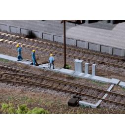 Auhagen 41620 - Kabelkanäle, Schaltkästen