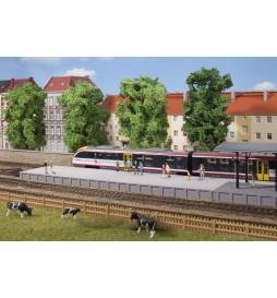 Auhagen 41634 - Bahnsteig ohne Überdachung
