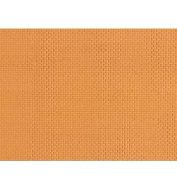 Auhagen 52413 - Płytka dekoracyjna z polistyrenu: żółta cegła