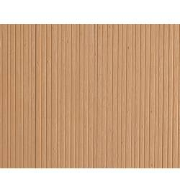 Auhagen 52418 - Płytka dekoracyjna z polistyrenu: ściana z jasnego drewna