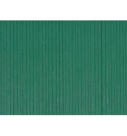Auhagen 52419 - 1 Dekorplatte Bretterwand grün lose
