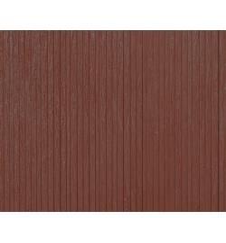 Auhagen 52420 - Płytka dekoracyjna z polistyrenu: ściana z ciemnego drewna