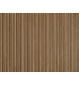 Auhagen 52429 - Płytka dekoracyjna z polistyrenu: ściana z drewnianych paneli