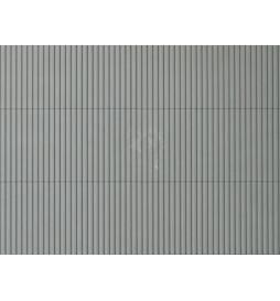 Auhagen 52433 - Płytka dekoracyjna z polistyrenu: blacha trapezowa szara