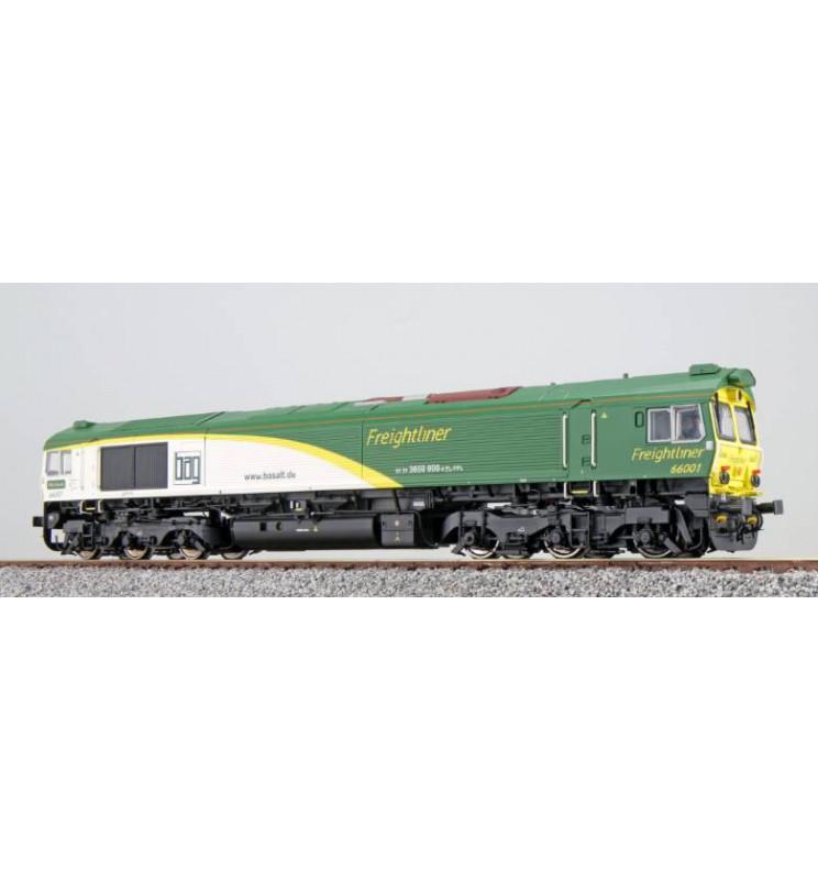 Lokomotywa spalinowa, Class 77, Freightliner Poland 66001, Ep VI, LokSound, Generator dymu, Skala H0, DC/AC - ESU 31280