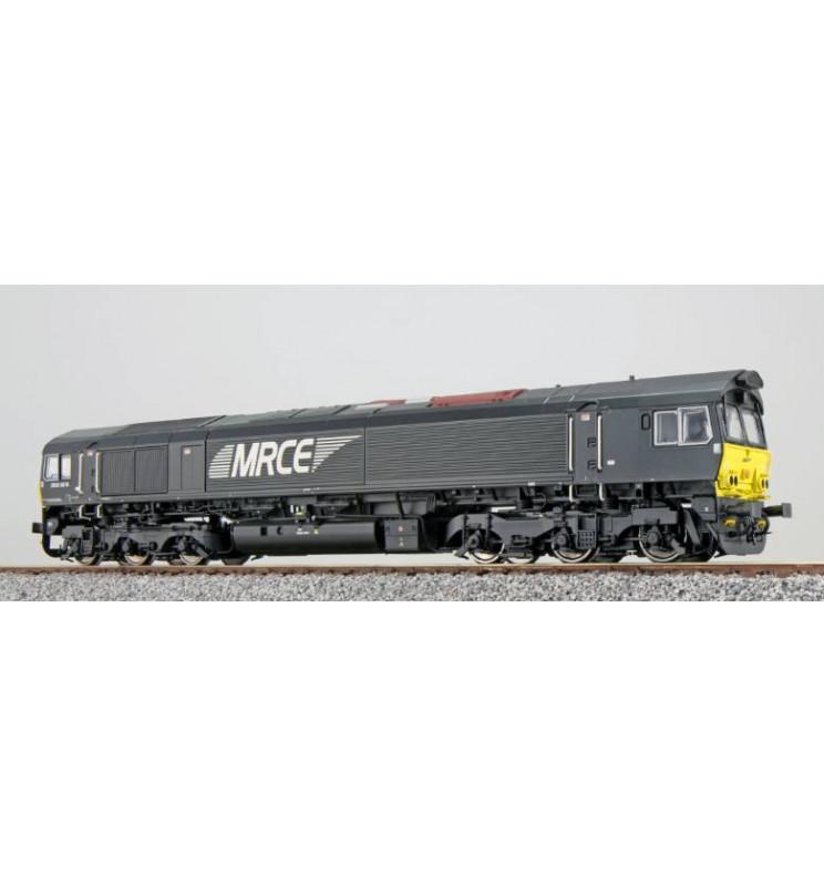 Lokomotywa spalinowa, Class 77, MRCE DE 6616, Ep VI, czarna, LokSound, Generator dymu, Skala H0, DC/AC - ESU 31278