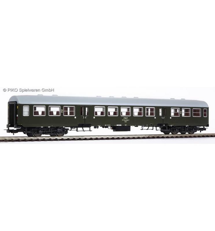 "Wagon pasażerski 2 klasy, 120A ""Bonanza"" PKP, Wrocław - Piko 96649"