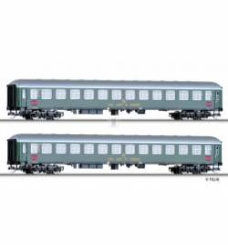 "Tillig 01761 - Zestaw wagonów pasazerskich ""RTC-Militärzug 2"" DB, Ep. III, skala TT"