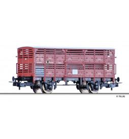 Tillig 76711 - Wagon do przewozu zwierząt K.P.E.V., Ep. I