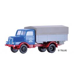 """Tillig 19056 - Ciężarówka H3A z plandeką """"VEB Chemische Werke Buna"""""""