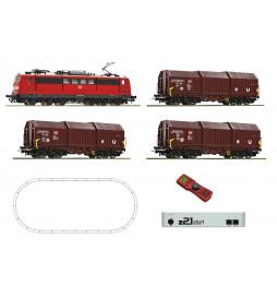 Roco 51293 - Cyfrowy zestaw startowy BR151 DB+3 wagony, z21start
