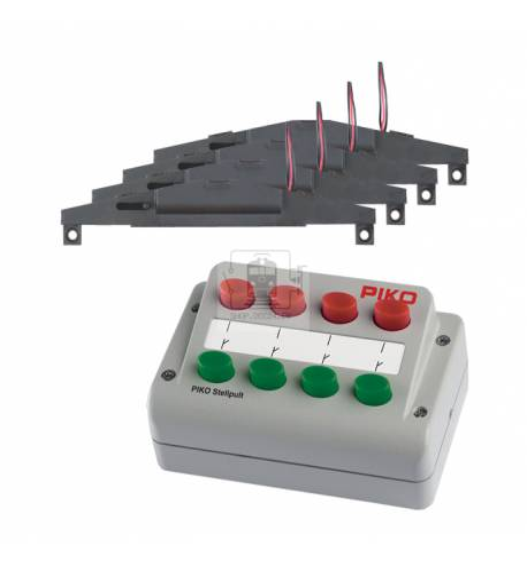 Zestaw sterowniczy do 4 zwrotnic - Piko 55392