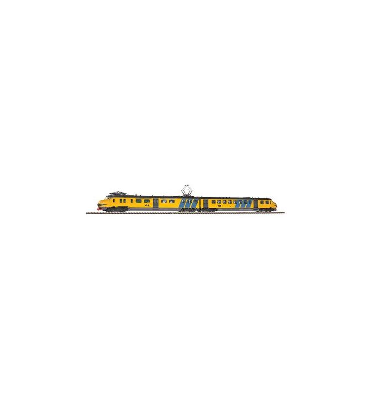 ~El.Zesp.Trak. NS III + lastg. Dec. (nieb/żółty) - Piko 57322