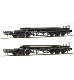 Roco 76194 - Zestaw platform z ładunkiem szyn