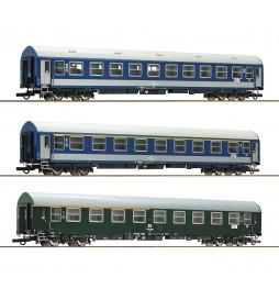 Roco 64195 - Zestaw wagonów pociągu Meridian, część 1