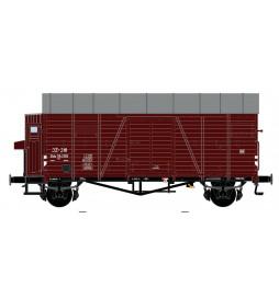 Exact-train EX20237 - Wagon towarowy JZ Oppeln (Blechdach/ Bremserhaus) JZ Epoche 3