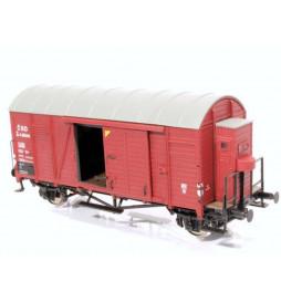 Exact-train EX20234 - Wagon towarowy CSD Oppeln mit Bremserbühne (Blechdach) Epoche 3
