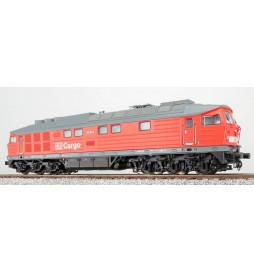 ESU 31162 - Spalinowóz Ludmiła 232 303, DB Cargo, czerwony, Ep V, LokSound, Generator dymu, Skala H0, DC/AC