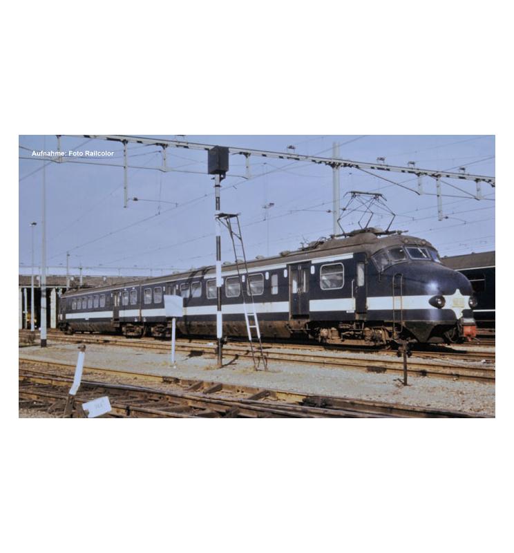 ~El.Zesp.Trak. Benelux NMBS 220901 III + lastg.Dec. - Piko 57370