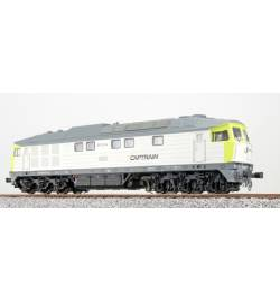 ESU 31164 - Spalinowóz Ludmiła BR 232-04, Captrain, Ep VI, LokSound, Generator dymu, Skala H0, DC/AC