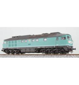 ESU 31165 - Spalinowóz Ludmiła 234 304, DB, miętowa zieleń, Ep V, LokSound, Generator dymu, Skala H0, DC/AC