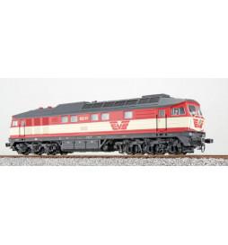 ESU 31166 - Spalinowóz Ludmiła 622.01, EVB, czerwono-kremowy, Ep V, LokSound, Generator dymu, Skala H0, DC/AC