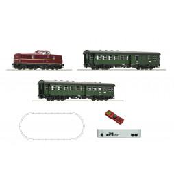 Roco 51295 - Cyfrowy zestaw startowy z21: BR280 z pociągiem pasażerskim DB