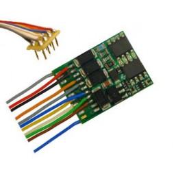 Dekoder jazdy i oświetlenia Zimo MX634R DCC 8-pin z przewodami