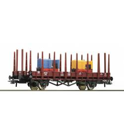 Roco 76771 - Wagon platforma DB z ładunkiem 2 lokomotyw wąskotorowych