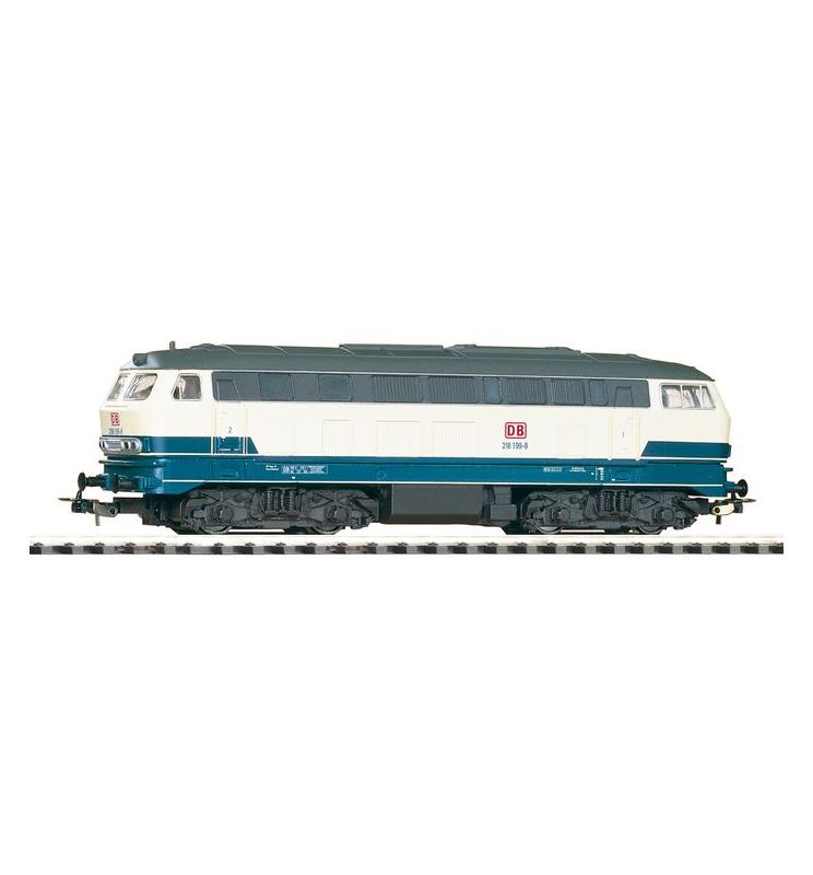 Spalinow. BR 218 beige/blau DB AG V - Piko 57517