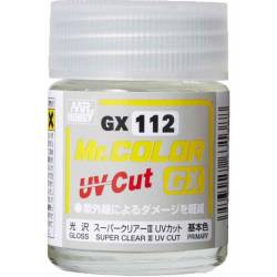 Mr.Hobby GX-112 - Farba Mr. Color, Super Clear III UV Cut Gloss