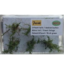 POLAK 9303 - ŚREDNIE KRZAKI MIKRO ZIELEŃ BRZOZOWA