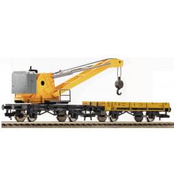Fleischmann 501901 - Dźwig kolejowy z wagonem technicznym DB
