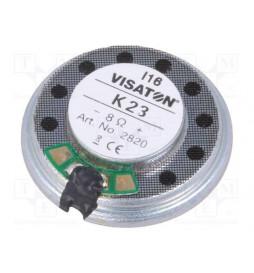 Głośnik bez komory rezonansowej 8Ω, 0,5W, 23mm (MS23-8-05)