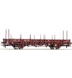 Roco 67243 - Wagon platforma z kłonicami SNCF