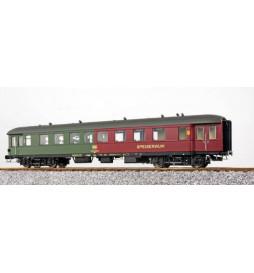 ESU 36158 - Wagon pasażerski z przedziałem barowym BRye 693, 85-53 018, DB, ep. IV, zielono-czerwony
