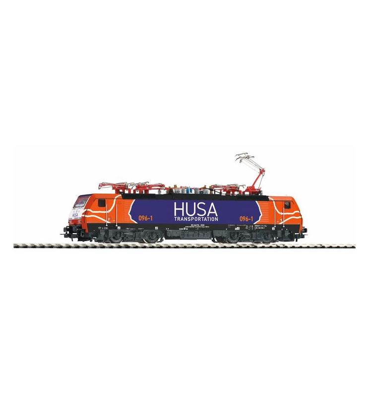 ~Elektrow.BR 189 HUSA VI nieb/pomarańcz + lastg Dec. - Piko 57853