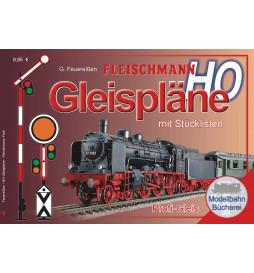 Fleischmann 81398 - Plany układów torowych H0