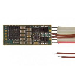 D&H SD10A-1 - Dekoder jazdy i dźwięku DCC/SX/MM NEM651 6-pin