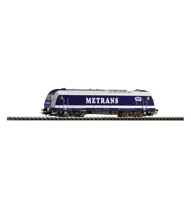 ~Diesellok Herkules Metrans VI + lastg. Dec. - Piko 57888