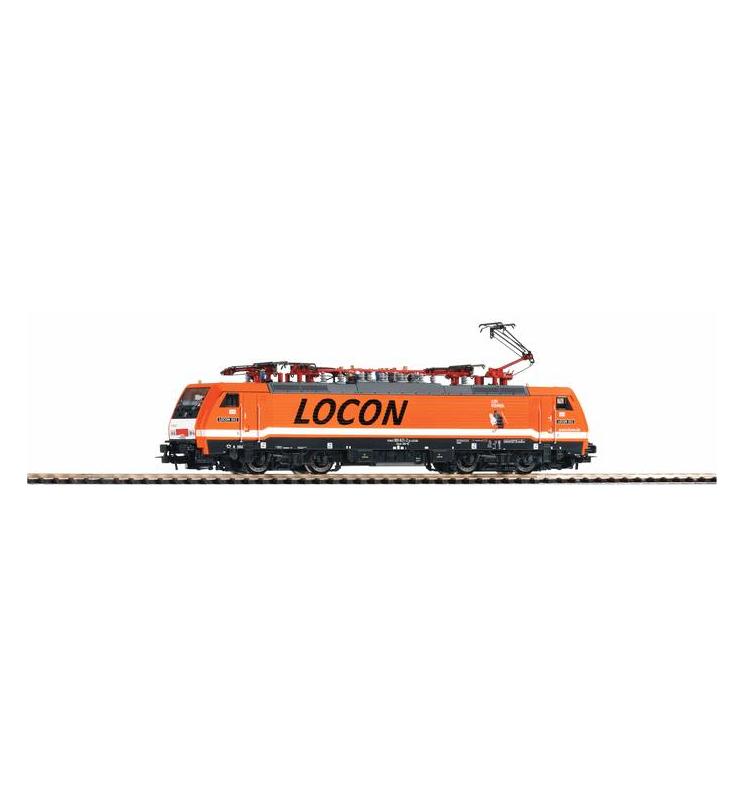 Elektrow.BR 189 LOCON VI pomarańcz. - Piko 57955