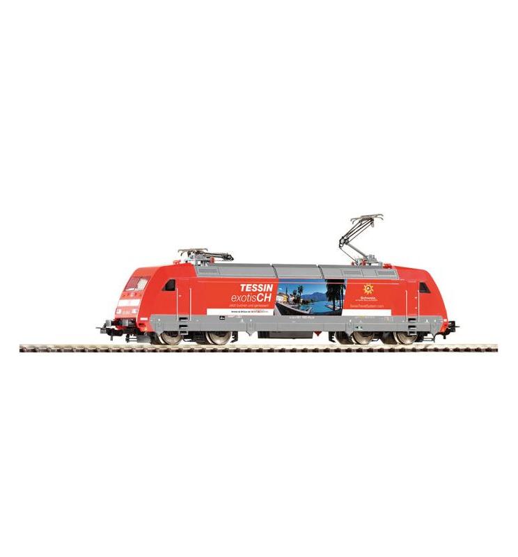 ~Elektrow.BR 101 Tessin DB AG VI + lastg.Dec. - Piko 59253