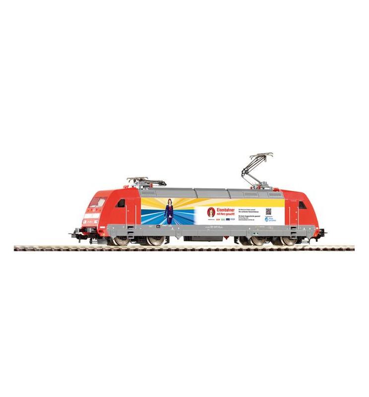 ~Elektrow.BR 101 Eisenbahner DB AG VI + lastg.Dec. - Piko 59254