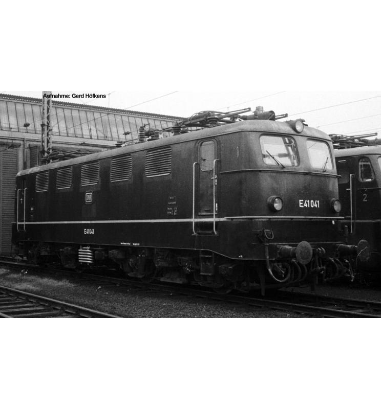 ~Elektrow. E 41 DB III, grün + lastg.Dec. - Piko 51511