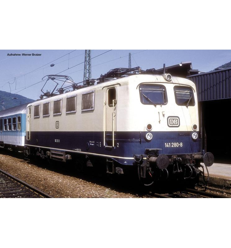 Elektrow.BR 141 447-3 DB IV, blau/beige - Piko 51512