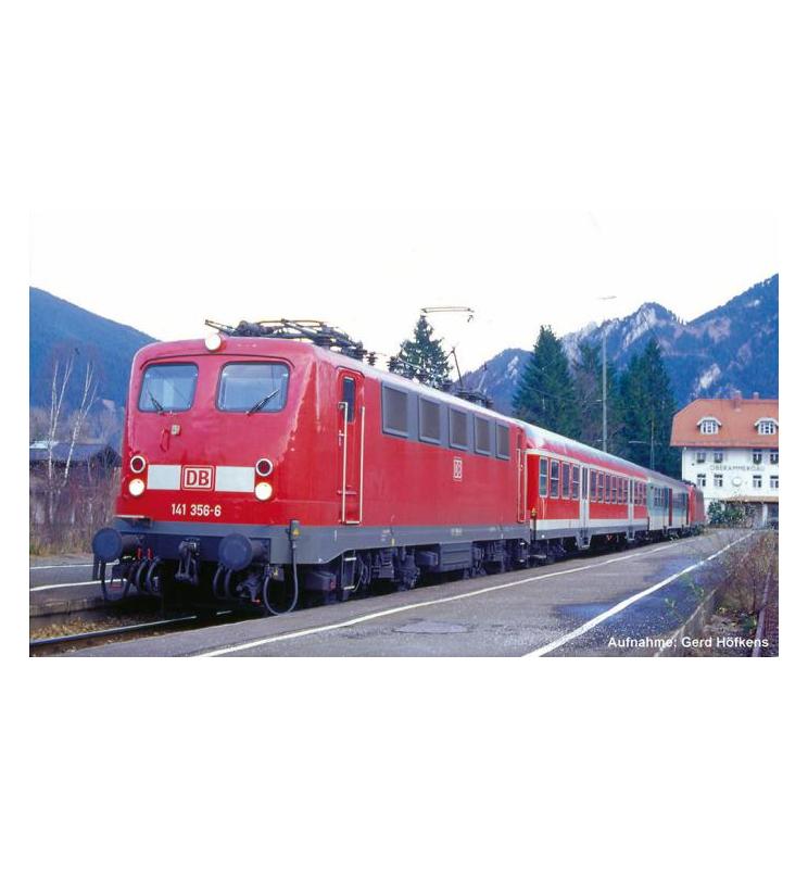 ~Elektrow.z dek. BR 141 DB AG V, verkehrsrot - Piko 51519